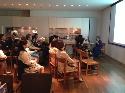 2015/9/26おなかの中からの子育て 出版記念パーティー